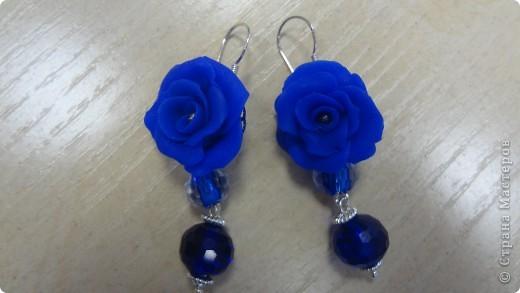 Голубые лилии в серебре фото 10