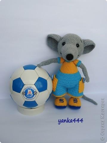 В онлайне с Патамуштой связан вот такой Крысик. Он и в футбол играет, и на скейте может кататься. В общем спортивный малый! фото 2