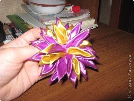попросили сделать цветок в голову на выпускной в школу это вариант №1 фото 2