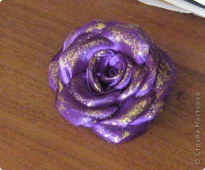 попросили сделать цветок в голову на выпускной в школу это вариант №1 фото 3