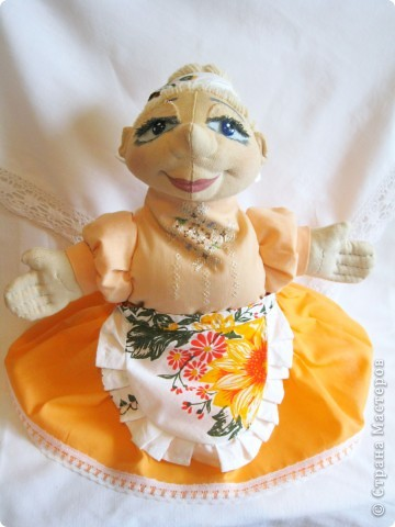 Кукла-перчатка Баба Василина фото 1