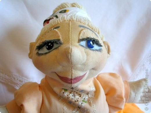 Кукла-перчатка Баба Василина фото 2