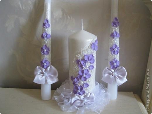 Набор свечей на заказ. фото 1