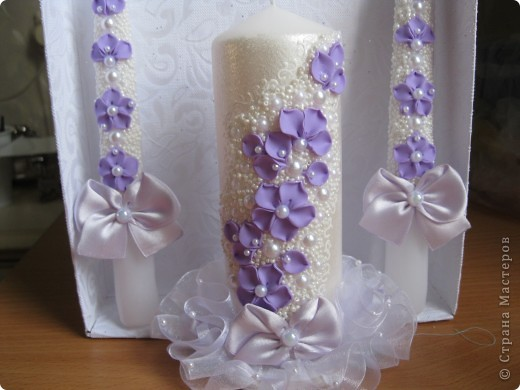 Набор свечей на заказ. фото 4
