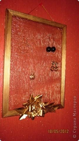 Рамка для сережек) фото 2
