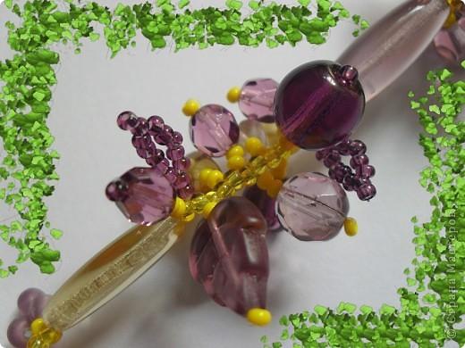 Для изготовления этого комплекта был использован чешский бисер и бусины чешского стекла. фото 3