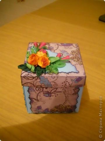 сново коробочка, уж больно понравилось их делать. фото 1