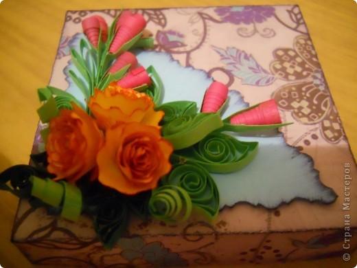 сново коробочка, уж больно понравилось их делать. фото 4