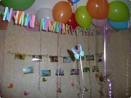 Было у меня день рождение и решила я его отметить так, как всегда хотелось отметить в детстве- чтобы было много- много воздушных шариков , и всё было ярко и красиво )) вот что получилось. Гости остались довольны. И наконец то сбылась моя мечта - у меня было 100 воздушных шаров, которые висели под потолком около трёх недель ))) Арку из шариков делала сама , оказалось это легко )))  фото 2