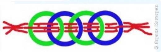 Это простая идея вязания пояса крючком. Пояс состоит из связаных колечек (кыждый делает колличество колечек по своим размерам) и продетого сквозь них шнурка. фото 3
