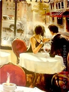 """Прочитала стихотворение замечательного автора """"Достучаться До Небес"""" http://www.stihi.ru/2012/04/23/10052 и оно вдохновило меня на размышления о встрече... История вымышленная, немного перекликается с фильмом """"Москва слезам не верит"""", но очень отдаленно..."""
