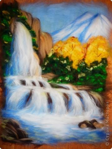 Водопад из шерсти фото 14