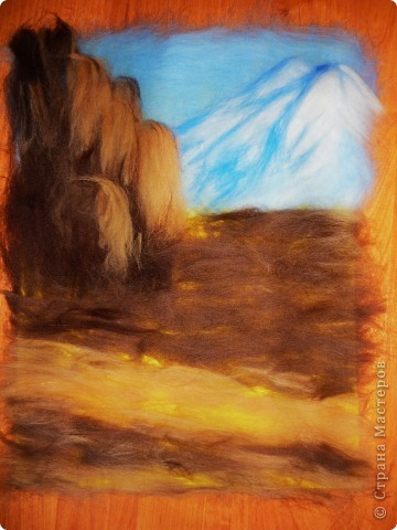 Водопад из шерсти фото 6