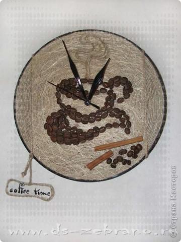 Часы кофейные фото 2