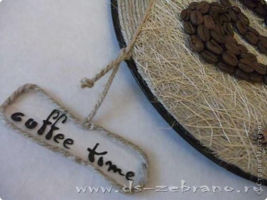 Часы кофейные фото 3