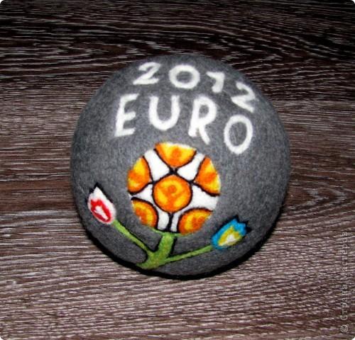 Войлочный мячь ЕВРО 2012