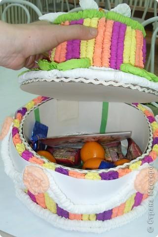 тортик непростой - шкатулка фото 2