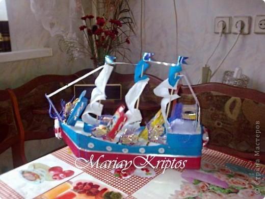 Сладкий кораблик для моего племяшика:-) фото 1