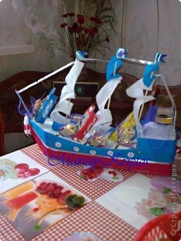 Сладкий кораблик для моего племяшика:-) фото 2