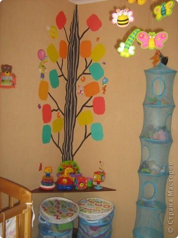 Декор угла в детской комнате
