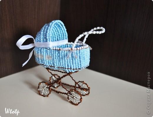 Декоротивная колясочка фото 1