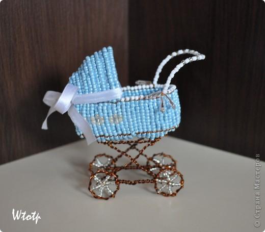 Декоротивная колясочка фото 2