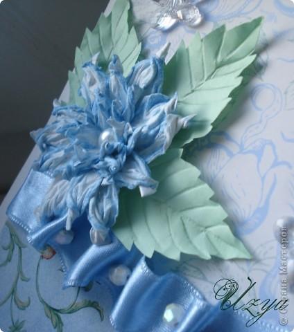 Здравствуйте! Сегодня я снова с открытками , при создании которых использовала цветок гардению  http://stranamasterov.ru/node/321021?tid=451%2C311 фото 3