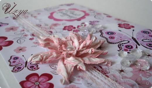 Здравствуйте! Сегодня я снова с открытками , при создании которых использовала цветок гардению  http://stranamasterov.ru/node/321021?tid=451%2C311 фото 6