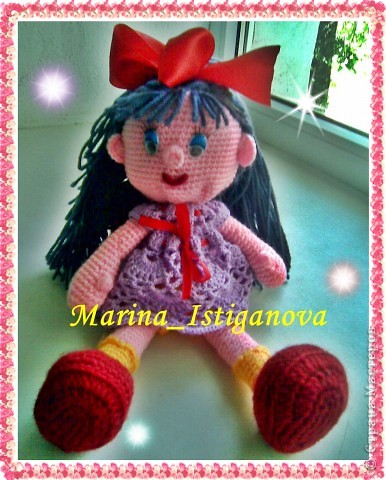 """У меня """"родилась"""" кукла Алиса! фото 4"""