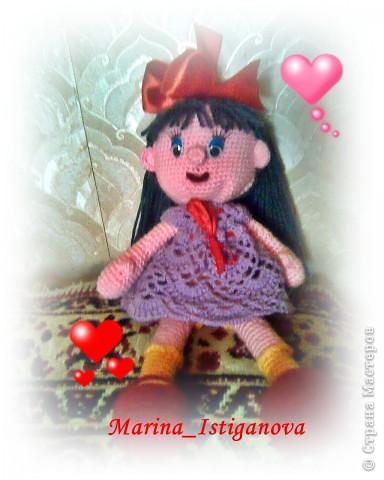 """У меня """"родилась"""" кукла Алиса! фото 2"""