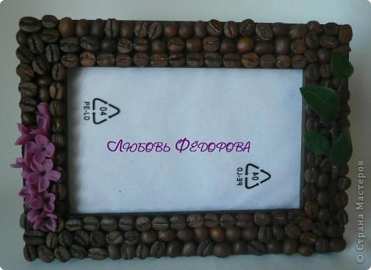 Всем привет!!!!!!!!!! Хочу показать вам кофейные работы... три топиария и 2 фото рамки. Кофейные деревца..цветущие фото 8