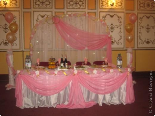 Оформление свадебного зала фото 1