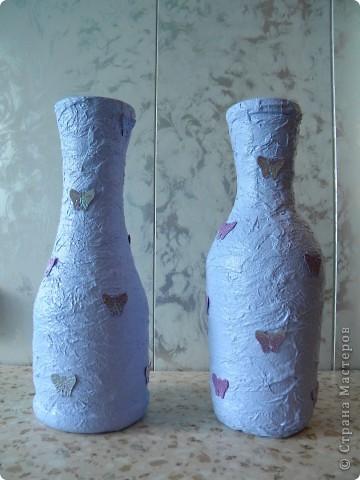 Сиреневые вазочки-близнецы