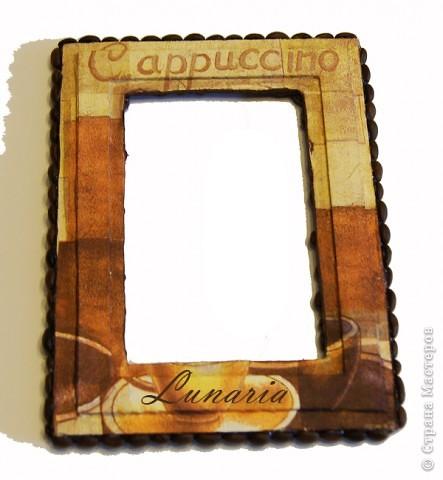 Такая рамка украсит любой интерьер или послужит замечательным подарком к любому празднику фото 6