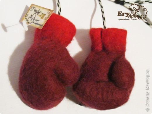 Сувенирные боксерские перчатки. фото 6