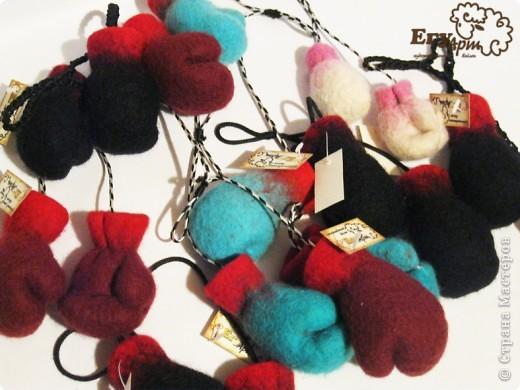Сувенирные боксерские перчатки. фото 3