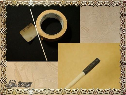 Декор предметов Мастер-класс Поделка изделие Декупаж Брелок своими руками из  МК Клей Салфетки фото 4