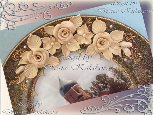 Тарелка была сделана для Настоятеля Храма в подарок ) фото 2