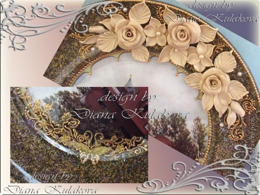 Тарелка была сделана для Настоятеля Храма в подарок ) фото 3