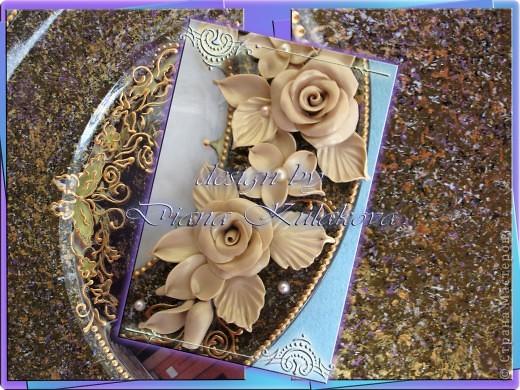 Тарелка была сделана для Настоятеля Храма в подарок ) фото 4
