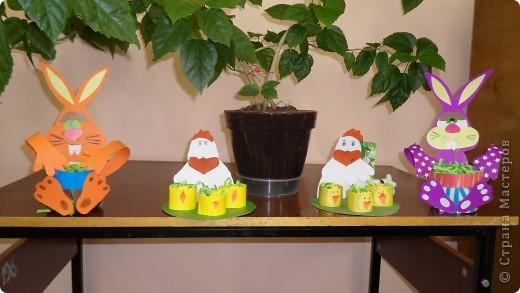 """Хочу показать работы детей из моего клуба """"Мастерилка"""", которые мы делали к пасхе 2009 г. фото 1"""