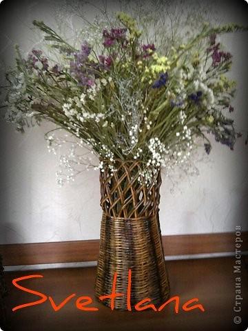 ваза под сухоцветы