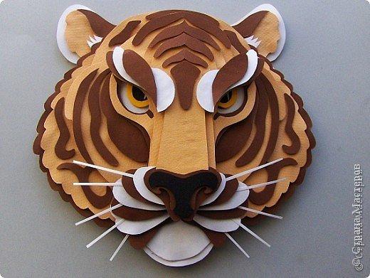 Тигр своими руками поделка