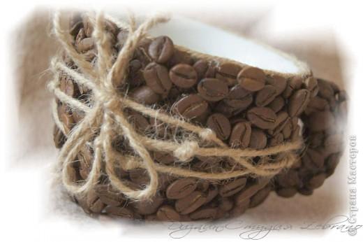 Декоративная кофейная чашечка фото 3