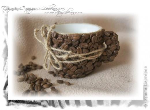 Декоративная кофейная чашечка фото 1