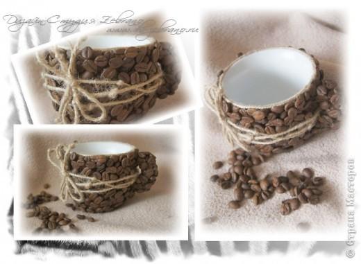 Декоративная кофейная чашечка фото 2