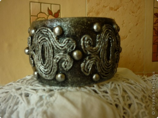Спасибо Татьяне Сорокиной за ее изобретение http://stranamasterov.ru/node/308701.За вечер, из ничего,получаются очень интересные вещи. Такая вот парочка получилась. фото 3