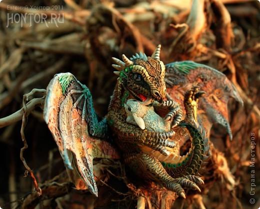 """Выставляю большую драконью подборку - кое-кто уже мелькал здесь, но большинство впервые """"засветились"""" в Стране Мастеров.  Не могу не начать с Рихарда. Он для меня все же особенный дракон. Основатель Луарилльского Гнезда, его бессменный лидер.   *** Истинный дракон благоволит мудрости и порицает глупость. Уважает жажду знаний и презирает суеверия. Он может обладать магическими силами, но твердо знает, что мир прекрасен и без магии. *** (с) Дракон Рихард фото 11"""