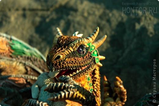"""Выставляю большую драконью подборку - кое-кто уже мелькал здесь, но большинство впервые """"засветились"""" в Стране Мастеров.  Не могу не начать с Рихарда. Он для меня все же особенный дракон. Основатель Луарилльского Гнезда, его бессменный лидер.   *** Истинный дракон благоволит мудрости и порицает глупость. Уважает жажду знаний и презирает суеверия. Он может обладать магическими силами, но твердо знает, что мир прекрасен и без магии. *** (с) Дракон Рихард фото 12"""