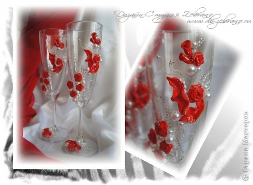 Свадебные бокалы фото 1